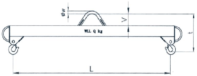 Jeřábová traverza lehká rozměry