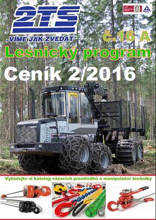 Lesnický program katalog 2TS s.r.o. 2016