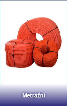 Polyamidová metrážní lana